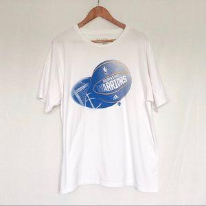 Adidas White Golden State Warriors T Shirt
